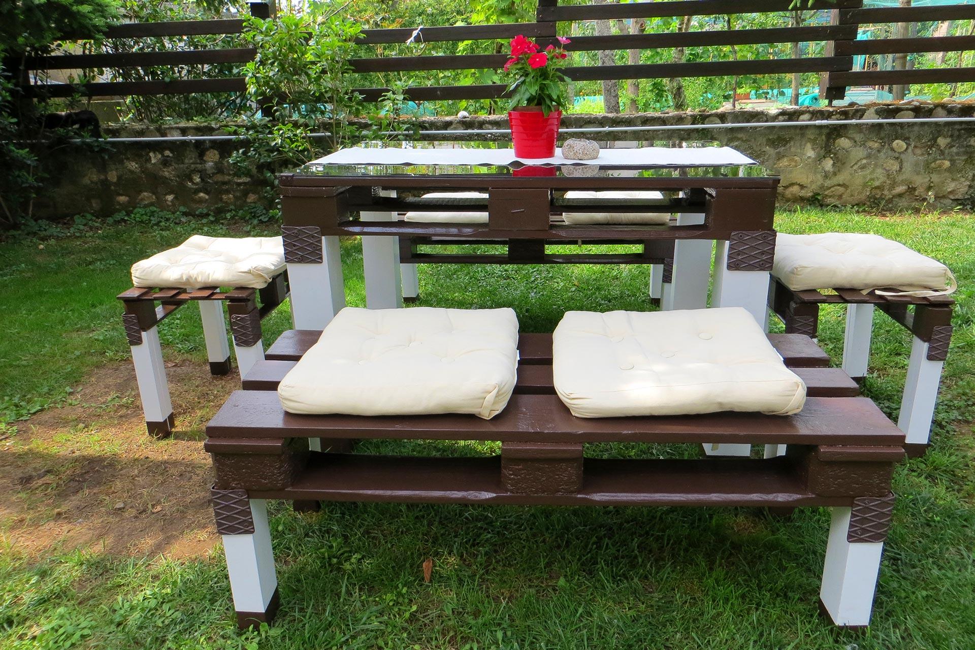 Tavolo e panche mikkom - Tavolo e panche da giardino ...